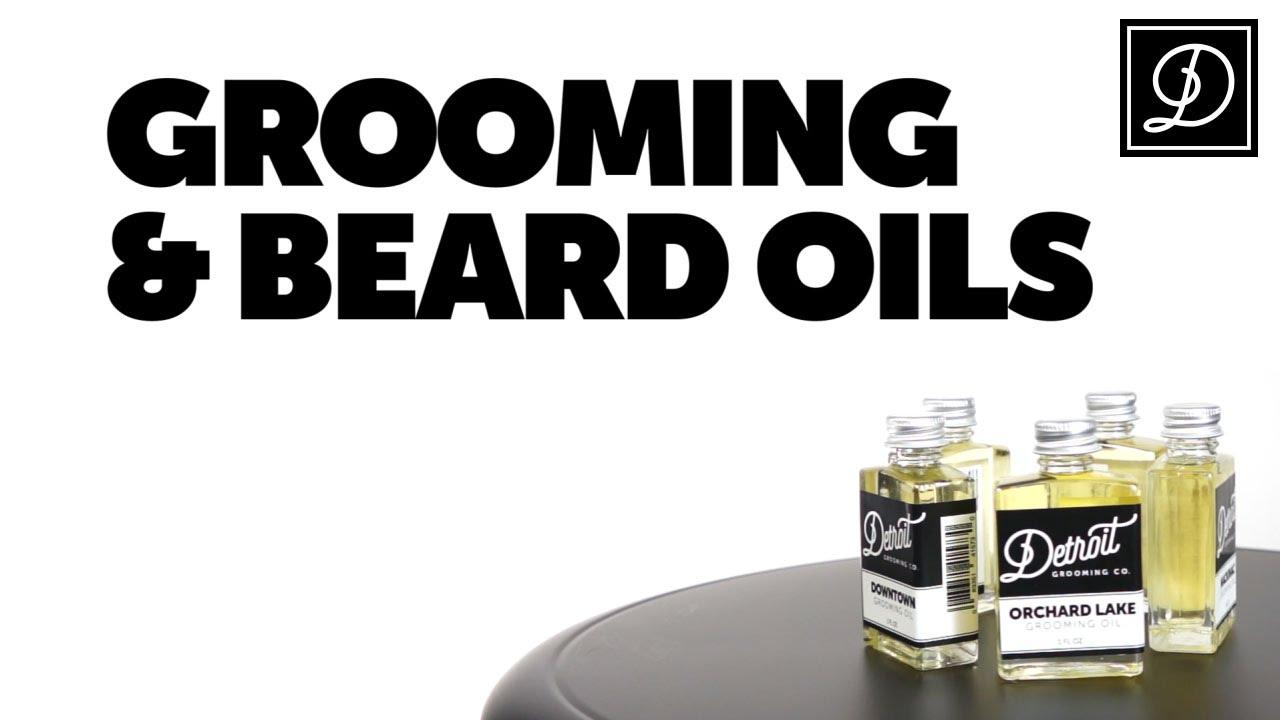 Grooming Beard Oils By Detroit Co