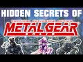 Hidden Secrets in Metal Gear Solid (PSX)