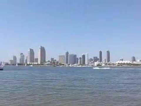 Boating on San Diego Bay