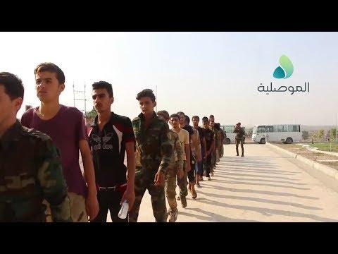الجبوري يشرف على اطلاق سراح عدد من شباب الموصل ممن وقعوا في عملية تحايل لأحد الحشود المزيفة
