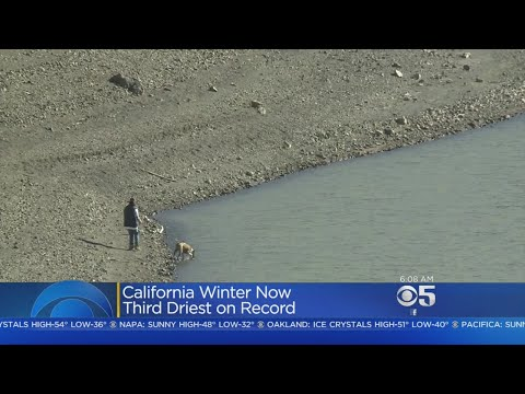 DROUGHT FEARS RETURN:  Dry February Sparks Concerns That Drought Is Returning