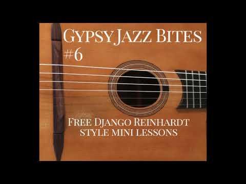 Free Gypsy Jazz Guitar Lessons With Jonny Hepbir | Gypsy Jazz Bites 6
