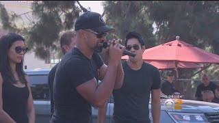 Cast, Crew Of CBS' 'S.W.A.T' Participate In 10th Annual Randy Simmons 5K/10K Challenge