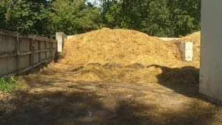 Free Horse Manure & Straw For Our Compost