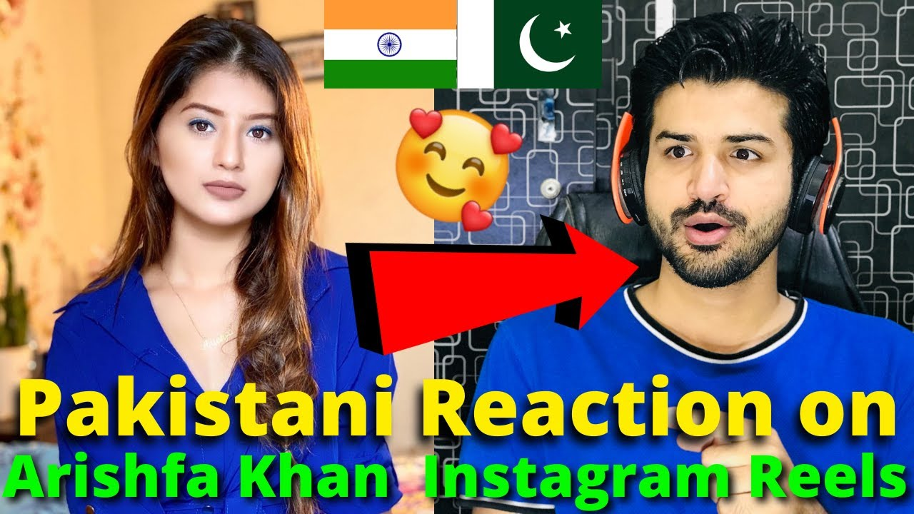 Download Pakistani React on Arishfa Khan Latest Instagram Reels Videos 2021 | Reaction Vlogger
