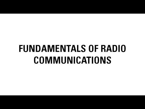 Fundamentals of Radio Communications