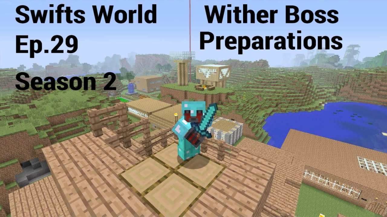 how to make a wither boss in minecraft ps4