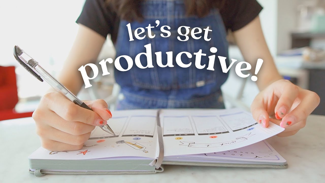 get productive with me (let's check off our to-do lists together!)
