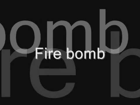 Rihanna - Fire Bomb Lyrics