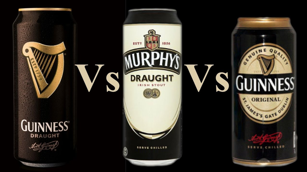 Comparing guinness draught in a can 4 1 murphys draught in a can 4 0 guinness original 4 2 - Guinness beer images ...
