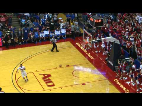 Jordan Sibert Game Winning Shot Against IPFW