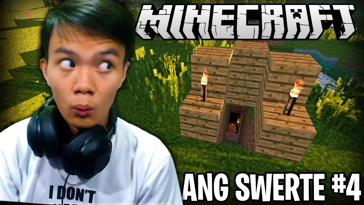 ANG SWERTE!! | Minecraft (Survival) - Part 4