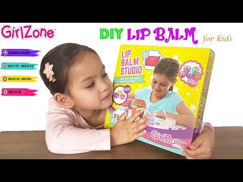 DIY Lip Balm | Girlzone Lip Balm Studio | Lip Balm Kit For Kids