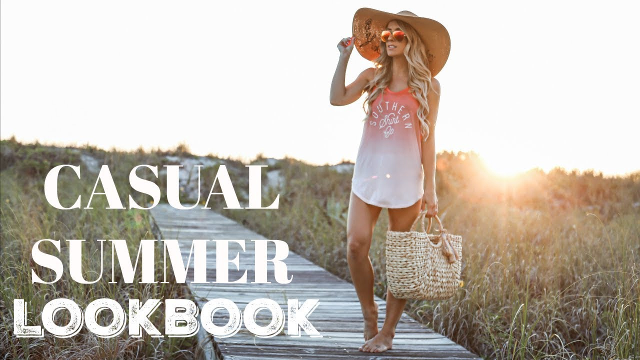 6f76fc2810c6f CASUAL SUMMER LOOKBOOK | 2018 - YouTube