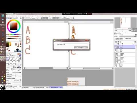 How To Copy Layer Set Between File In Paint Tool SAI