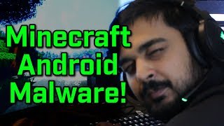 MINECRAFT ANDROID MALWARE!?! - Virus Investigations 11