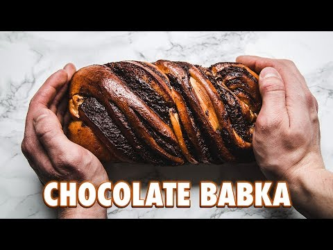 The Best Chocolate Babka Recipe (Chocolate Brioche Bread)