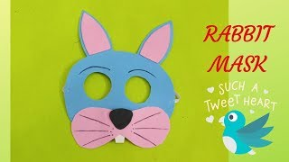 How to make Rabbit mask | School Craft | Rabbit mask|