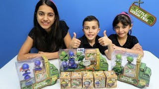 Awesome Little Green Men Series 1 Unboxing Review and Gameplay   HZHtube Kids Fun