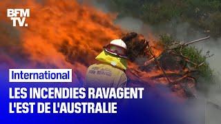 Les incendies ravagent l'est de l'Australie
