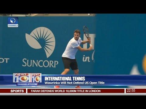 News@10: Wawrinka Will Not Defend U.S Open Title 04/08/17 Pt 4