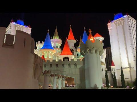 365 In Vegas Day 203 - Walk-thru Of Excalibur Casino Floor (August 5, 2019)