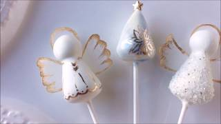 Christmas Cake Pops using My Little Cakepop Molds