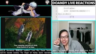 DoanDy reacts to GINTAMA (Ep. #79) || SAND KAMI