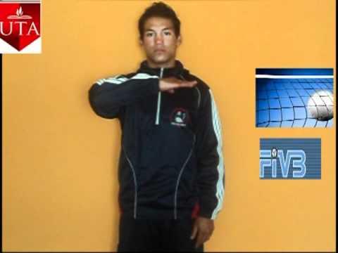 se209ales arbitrales de voleibol washington vargas