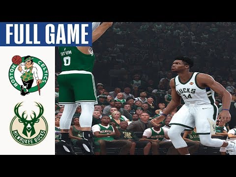 NBA TODAY Live Streaming Boston Celtics Vs Milwaukee Bucks Jan 16, 2020   NBA2k20