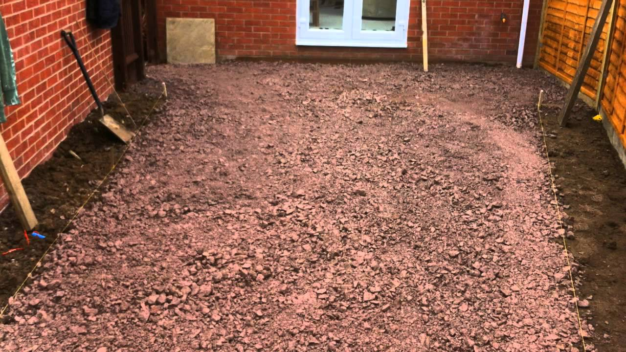 Paving Slabs Flags Laying Guide Youtube