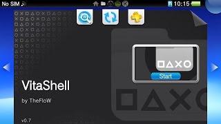 PS Vita Cracked!! Install VitaShell 1.42 using MolecularShell FTP