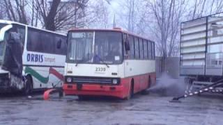 Ikarus 260.04 #2339 - odpalanie :)    www.kultowyikarus.pl