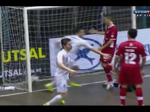 Gols Blumenau 4 x 4 Sorocaba - Liga de Futsal 0611