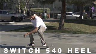 Switch Fs 540 Heelflip | Trick Challenge