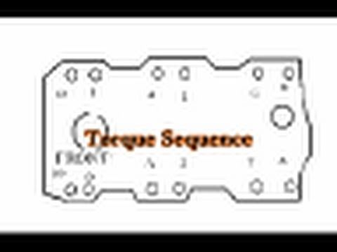 chevy 350 intake manifold torque sequence - youtube
