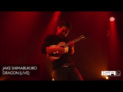 "Jake Shimabukuro ""DRAGON"" (Live Ukulele Performance)"