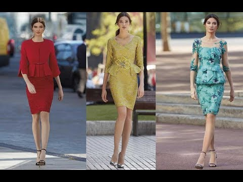 84d502dfa vestidos para Madrinas de bodas Elegantes 2019 - YouTube