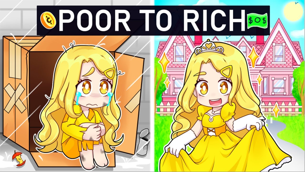 Gaby's POOR To RICH Story In Roblox!