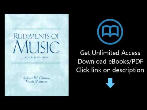 Rudiments of Music (4th Edition)