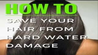 How to Prevent Hair Loss Due to Hard Water!Health tips