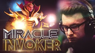 Miracle- The GOD of Invoker - EPIC Gameplay Highlights Movie - Dota 2