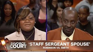 Vintage Divorce Court- Robinson Vs. Smith: Staff Sergeant Spouse