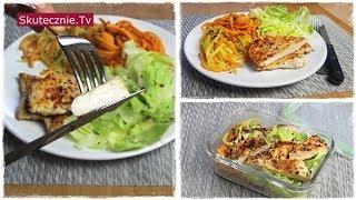 Zawsze soczyste kotlety drobiowe i spaghetti z batatów. OBIAD, LUNCHBOX :: Skutecznie.Tv