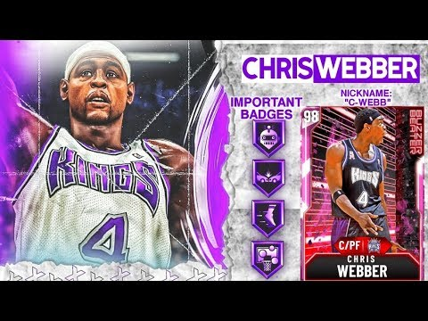 PINK DIAMOND CHRIS WEBBER GAMEPLAY! A POINT BIG DEMIGOD! NBA 2k20 MyTEAM
