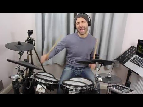 Earth, Wind & Fire and David Foster - Live medley (Roland TD9 drum cover)