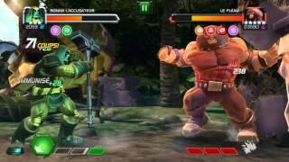 Marvel Contest of champions Ronan 3* VS Juggernaut from Story quest 4-3-3