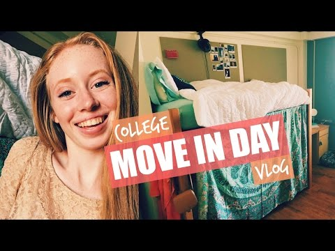 COLLEGE MOVE IN DAY VLOG | Justali (University of Texas)