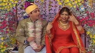 Zafri Khan and Nasir Chinyoti Stage Drama Chalis Chor Full Comedy Clip