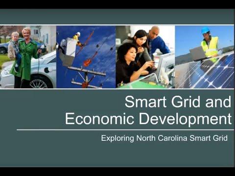 Smart Grid and Economic Development Webinar